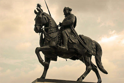 Statue of Rajput Warrior Maharana Pratap